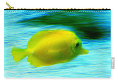 Yellow Fish Carry-all Pouch