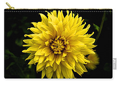 Carry-all Pouch featuring the photograph Yellow Flower by Matt Harang