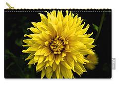 Yellow Flower Carry-all Pouch by Matt Harang
