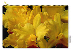 Yellow Folds Carry-all Pouch