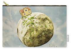 Yellow House In The Sky Carry-all Pouch