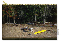 Yellow Kayak Carry-all Pouch