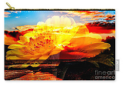 Yellow Carry-all Pouch by Marvin Blaine