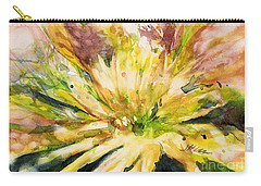Yellow Mum Carry-all Pouch