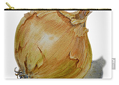 Yellow Onion Carry-all Pouch by Irina Sztukowski