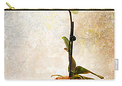 Carry-all Pouch featuring the photograph Yellow Orchid by Patti Deters