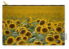 Carry-all Pouch featuring the photograph Yellow by Ronda Kimbrow