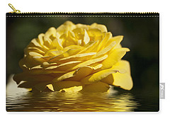 Yellow Rose Flood Carry-all Pouch