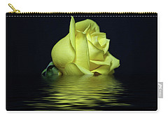 Yellow Rose II Carry-all Pouch by Sandy Keeton