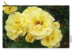 Yellow Rose Of Pa Carry-all Pouch by Michael Porchik