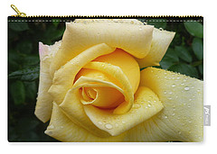 Yellow Rose Say Goodbye Carry-all Pouch