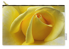 Yellow Rose Softness Carry-all Pouch