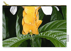 Yellow Shrimp Plant Carry-all Pouch