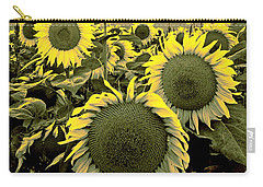 Yellow Sky Yellow Flowers. Carry-all Pouch
