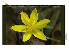 Yellow Star Carry-all Pouch by William Tanneberger