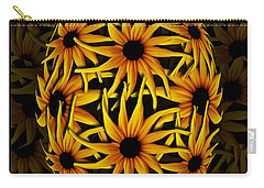 Yellow Sunflower Seed Carry-all Pouch