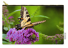 Yellow Tiger Swallow Tail Butterfly Carry-all Pouch