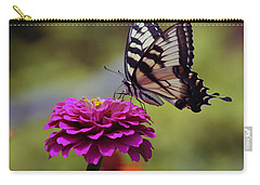 Yellow Tiger Swallowtail Butterfly Carry-all Pouch