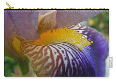 Yellow Tuft Carry-all Pouch by Cheryl Hoyle