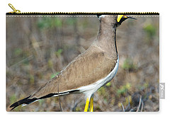 Yellow-wattled Lapwing Vanellus Carry-all Pouch