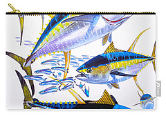 Yellowfin Run Carry-all Pouch by Carey Chen