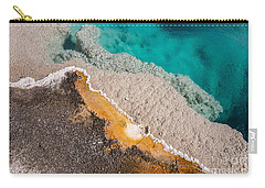 Yellowstone Abstract Carry-all Pouch by Sue Smith