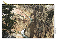 Yellowstone Canyon Carry-all Pouch by Laurel Powell