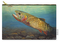Yellowstone Cut Takes A Salmon Fly Carry-all Pouch
