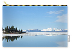 Yellowstone Lake In The Spring Carry-all Pouch