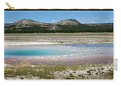 Yellowstone Landscape Carry-all Pouch by Laurel Powell