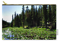Yellowstone Lily Pads  Carry-all Pouch