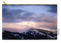 Yellowstone Morning Carry-all Pouch by Sharon Elliott