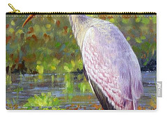 Yelow-billed Stork Carry-all Pouch