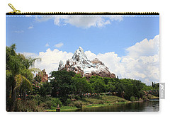 Carry-all Pouch featuring the photograph Yeti Country by David Nicholls
