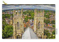 York From York Minster Tower Carry-all Pouch
