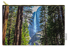 Yosemite Falls Carry-all Pouch by Dany Lison