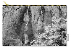 Carry-all Pouch featuring the photograph Yosemite Falls by Mark Greenberg