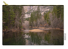 Yosemite Falls Reflection Carry-all Pouch