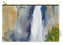 Yosemite Falls Springtime Carry-all Pouch