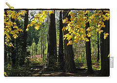 Carry-all Pouch featuring the photograph Yosemite Fen Way by John Haldane