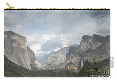 Yosemite National Park Carry-all Pouch by Juli Scalzi