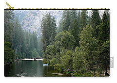 Yosemite National Park Carry-all Pouch by Laurel Powell