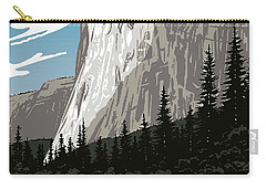 Yosemite National Park Vintage Poster 2 Carry-all Pouch
