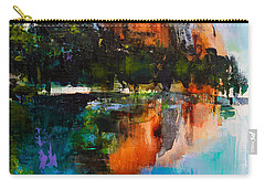 Yosemite Valley Carry-all Pouch by Elise Palmigiani