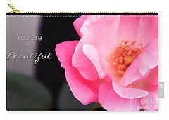 You Are Beautiful Carry-all Pouch by Andrea Anderegg