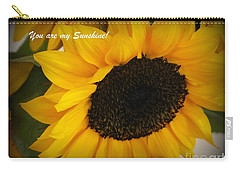 You Are My Sunshine - Greeting Card Carry-all Pouch