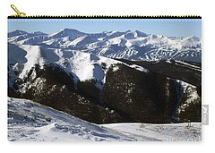 Carry-all Pouch featuring the photograph You Can See Forever by Fiona Kennard