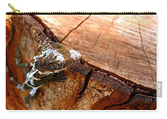 Carry-all Pouch featuring the photograph You Can See Me? by Greg Allore
