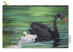 You Comin'--black Swan Carry-all Pouch