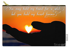 You Hold My Heart Forever By Diana Sainz Carry-all Pouch